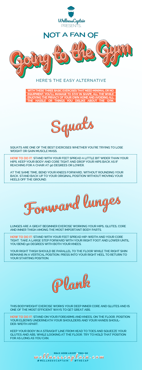 Not a Fan of Going to the Gym? Here's the Easy Alternative 1
