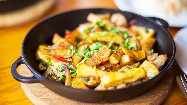 potatoes skillet