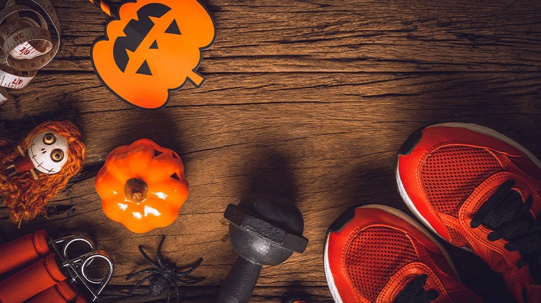 halloween workout wellness captain