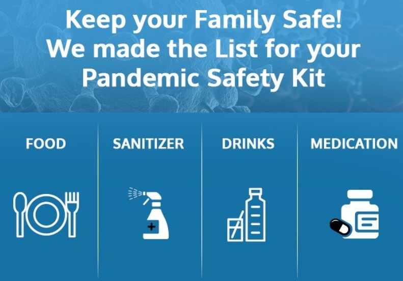 pandemic safety kit