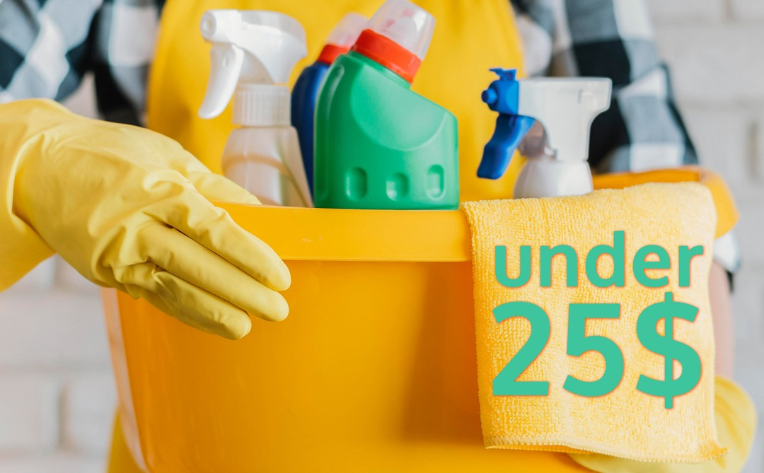 Best Cleaning Products Under 20$ - Keep your budget safe and your house clean