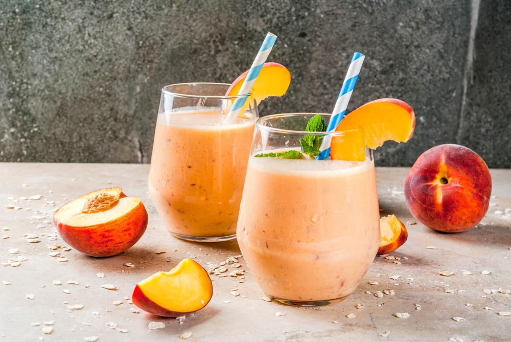 Boost Your Energy Instantly with Our Morning Peach Smoothie 1